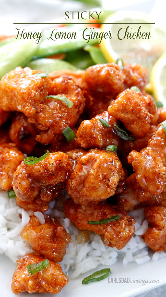 Sweet And Spicy Ginger Wings Recipe — Dishmaps